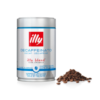 illy koffiebonen cafeïnevrij